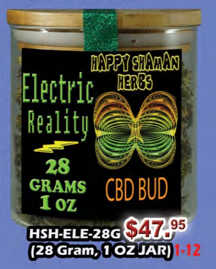 ELECTRIC REALITY bud 28 gram jar