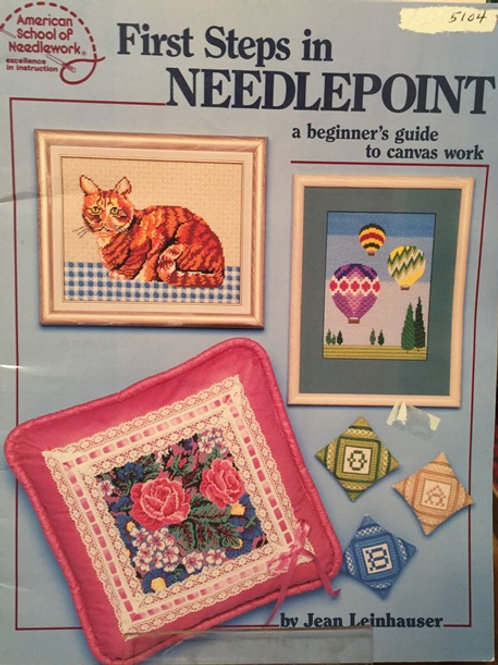 American School 5103. First Steps in Needlepoint Beginners Guide