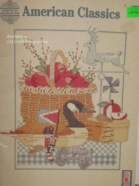 Gloria & Pat 62. American Classics Cross Stitch Charts Patterns