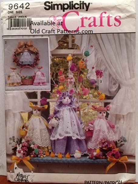 Simplicity 9642. Bunny Rabbit Clothes - Sewing Patterns