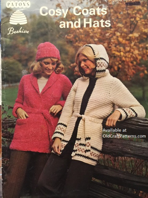 Patons 3. Cosy Coats and Hats - Crochet and Knitting Patterns