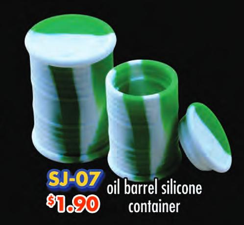 SILICONE container oil barrel