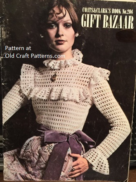 Coats & Clark's 204. Gift Bazaar - Crochet Knitting Macrame Patterns