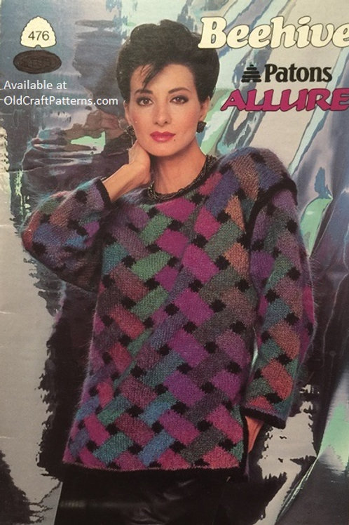 Patons 476. Allure - Ladies Knitting Patterns