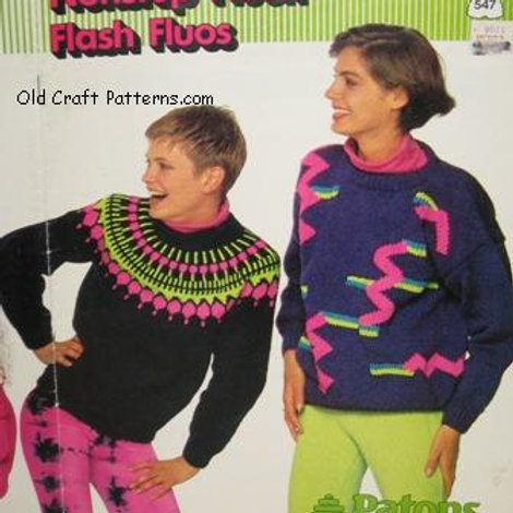 Patons 547 Nonstop News - Family Sweaters