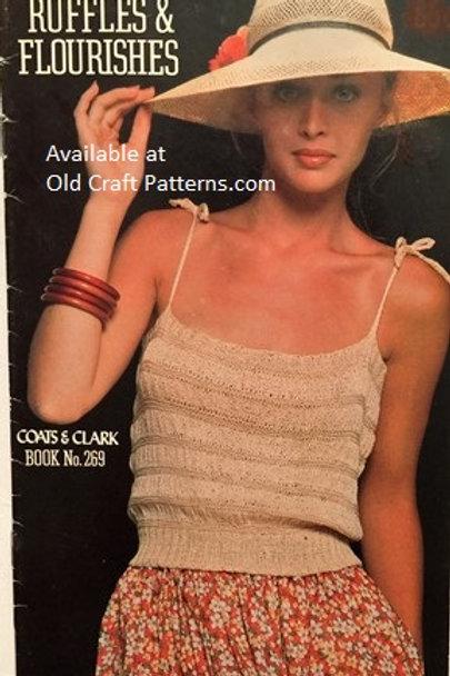 Coats & Clark 269. Ruffles & Flourishes - Crochet & Knitting Patterns