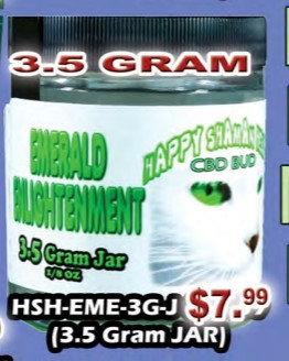 EMERALD ENLIGHTENMENT bud 3.5gram jar