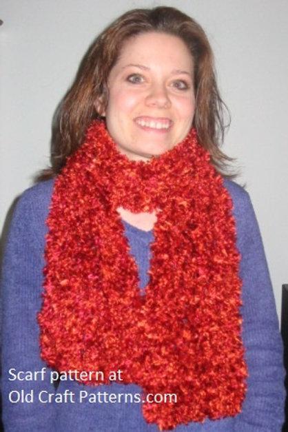Free Crochet Pattern for Fun Scarf
