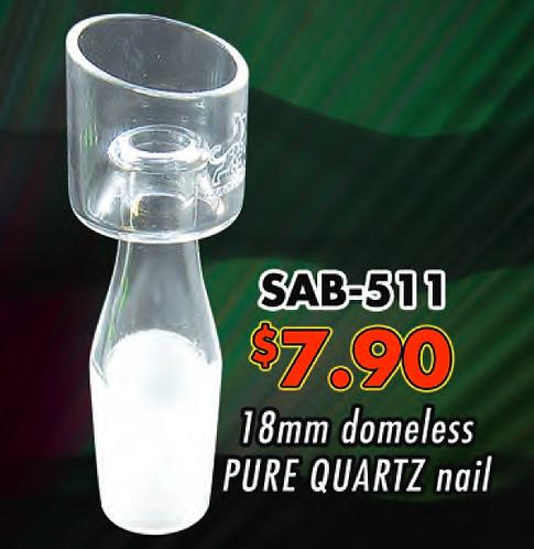 Quartz Domeless 18mm Male SAB-511