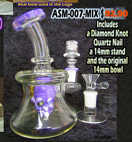 SABERTOOTH PURPLE DUDE RIG MIX 14mm