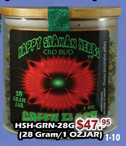 GREEN FLASH bud 28 gram jar
