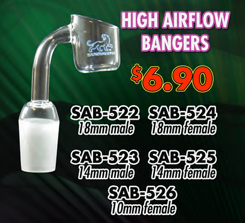 Quartz High air flow banger SAB-522