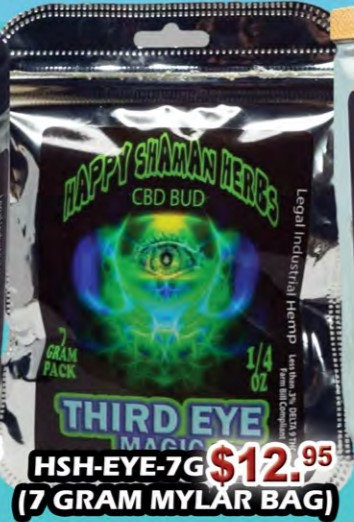 THIRD EYE MAGIC bud 7 gram MYLAR BAG