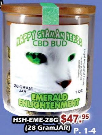 EMERALD ENLIGHTENMENT bud 28gram jar