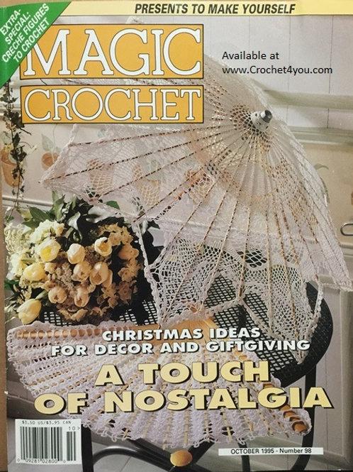 Magic Crochet 98. Crocheted Christmas Gifts Decor Patterns
