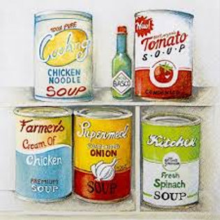 Kitchen Cabinet - Decoupage Napkin