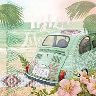 Ibiza - Decoupage Napkin