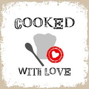 Cooked With Love - Decoupage Napkin