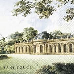 Schlos Sansoiu - Decoupage Napkin