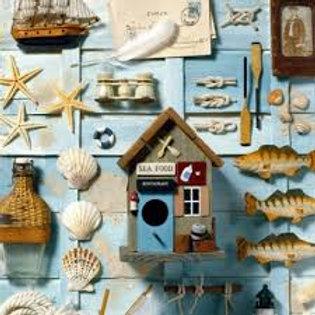 Nautica - Decoupage Napkin
