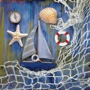 Coastal Memories - Decoupage Napkin