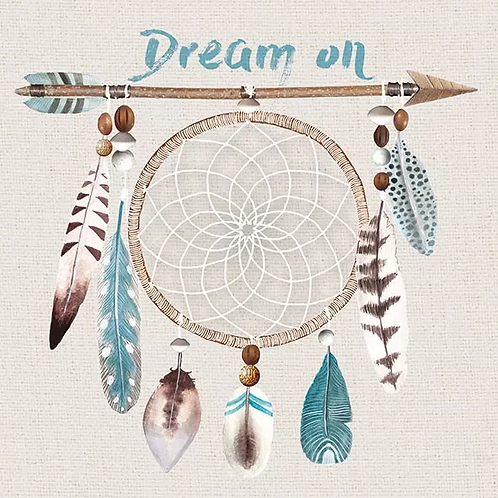 Dream On- Decoupage Napkin