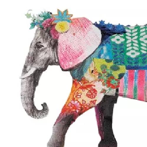 Regalia Elephant - Decoupage Napkin