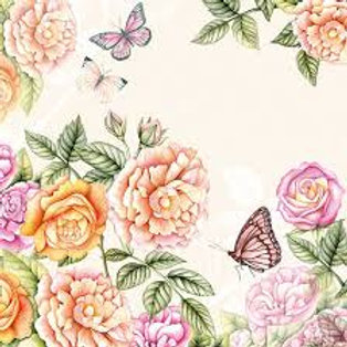 Botanical Garden - Decoupage Napkin