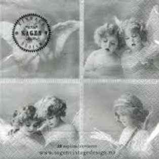 Angelic - Decoupage Napkin