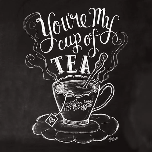 You Are My Cup Of Tea- Decoupage Napkin