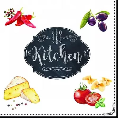 Kitchen Basic - Decoupage Napkin