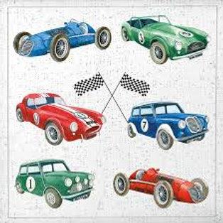Classic Cars - Decoupage Napkin