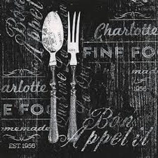Bon Appetit - Decoupage Napkin
