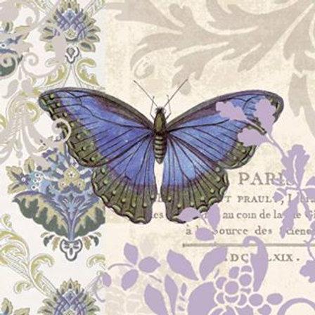 Vintage Papillion - Decoupage Napkin
