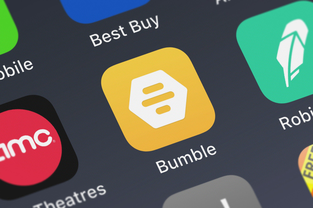Icon of the mobile app Bumble