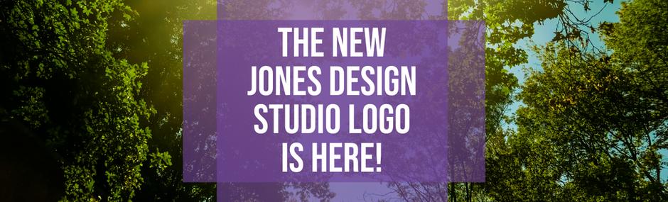 The New Jones Design Studio Logo is Here!