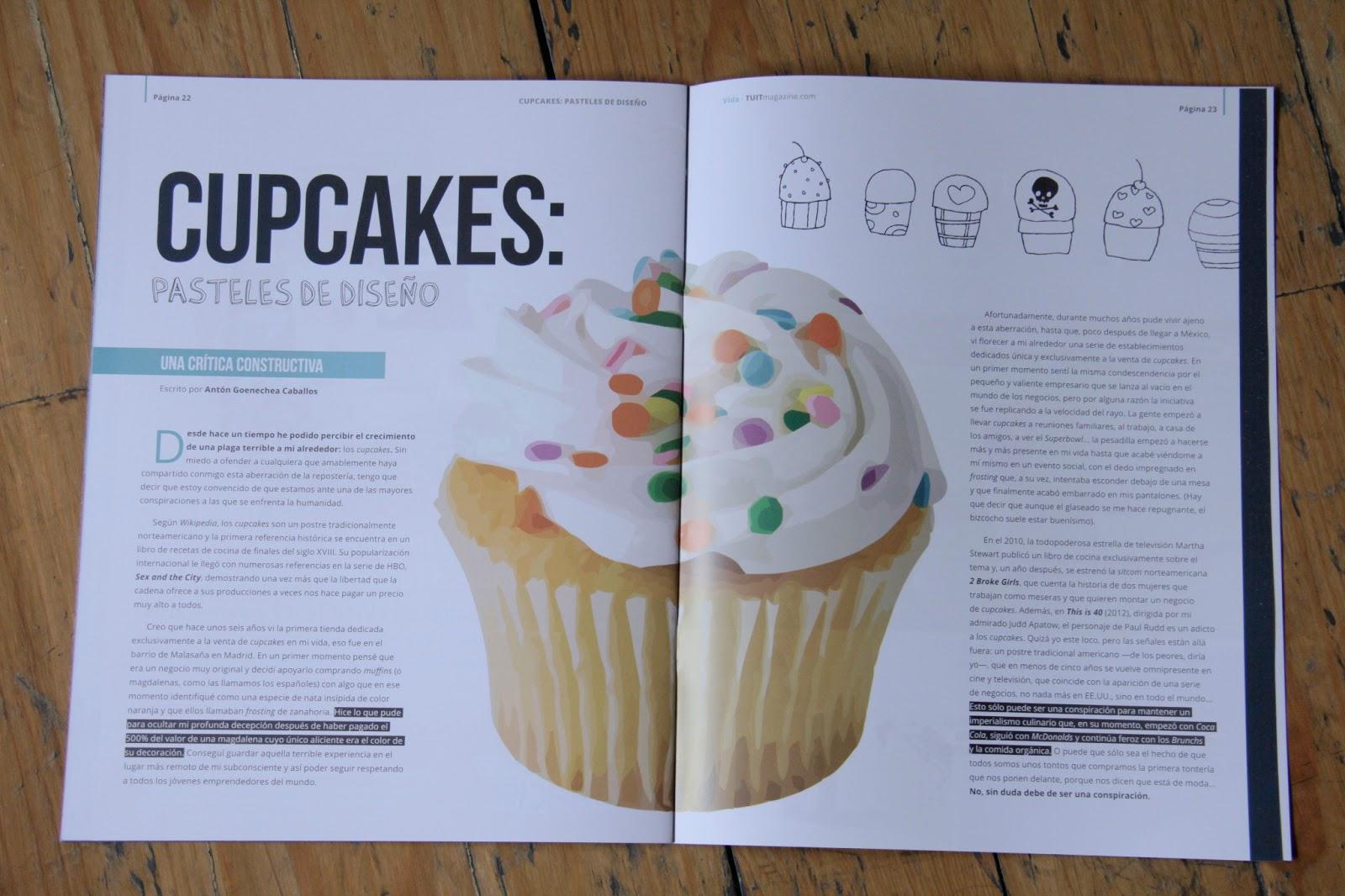 Cupcakes: Paseteles de diseño