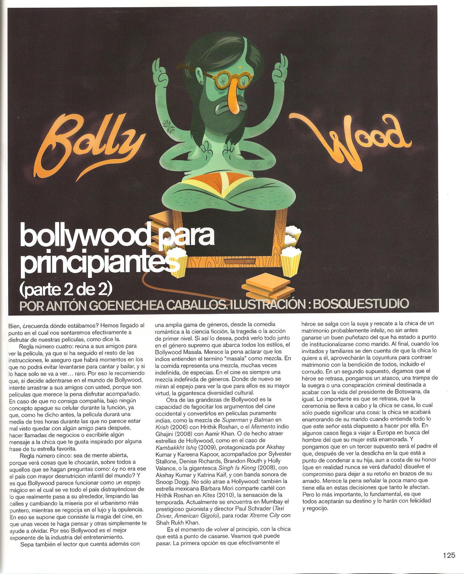 Bollywood para principiantes (2/2)