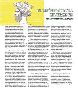 El licantropo y la mujer mono