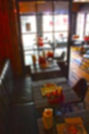 7Bone Newbury restaurant interior designers maven design studio american diner