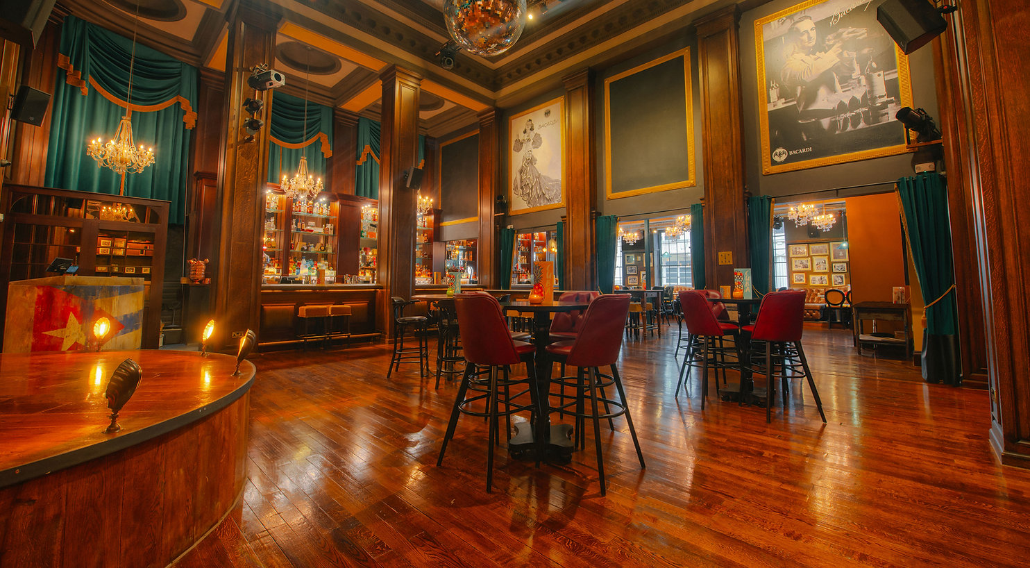 Revolucion De Cuba, Birmingham | Club & Bar Interior | Maven Design Studio