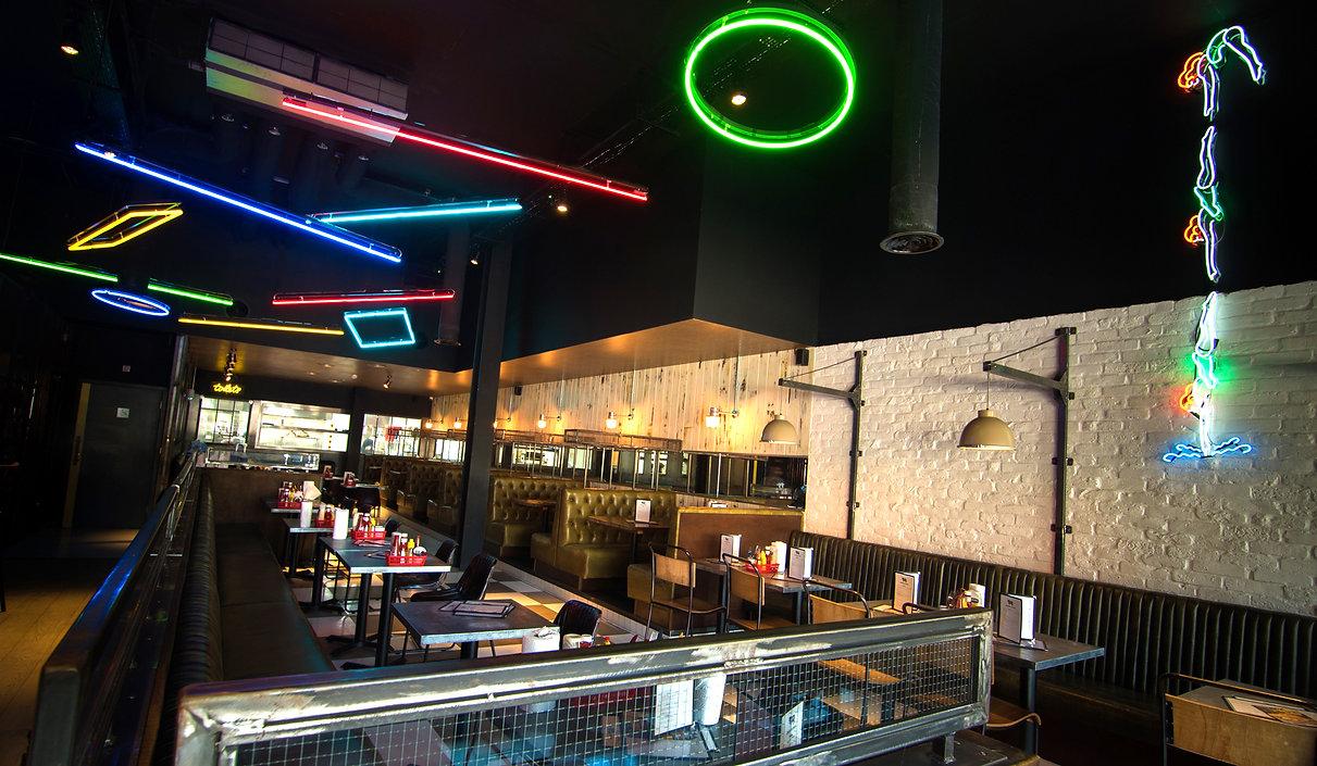 7bone Weston Super Mare restaurant interior design competitive socialising