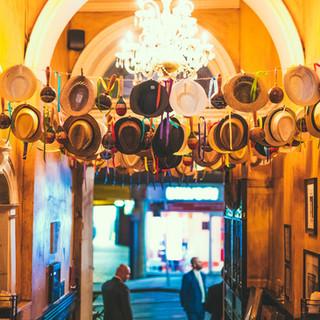 Entrance hats installation RDC Nottingham