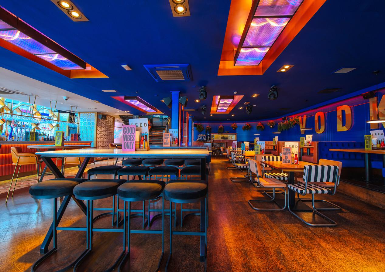 Revolution Clapham High Street | Cocktail bar & restaurant interior designers. Bar, restaurant, office, co-working, hotel.