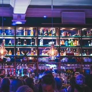 Back bar Revolucion De Cuba Nottingham design