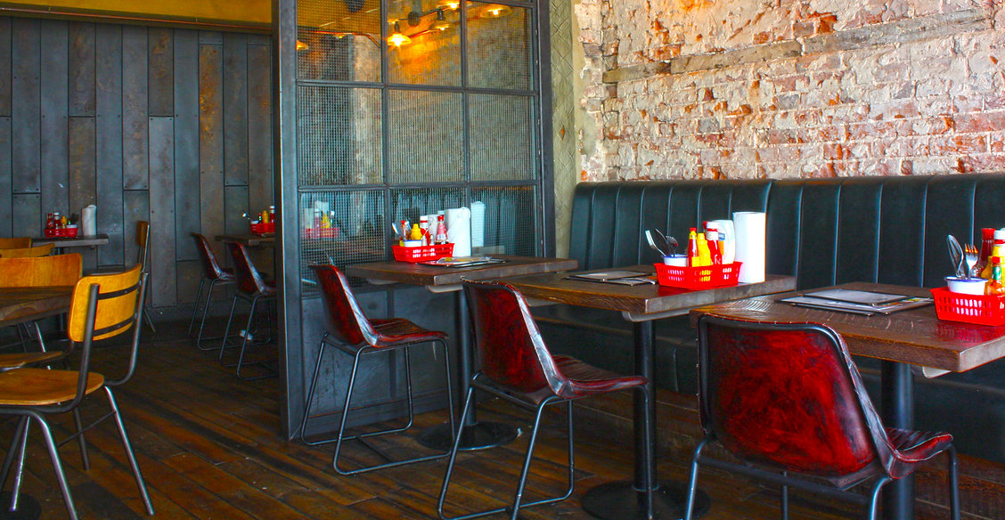 7Bone burger restaurant interior designer american uk