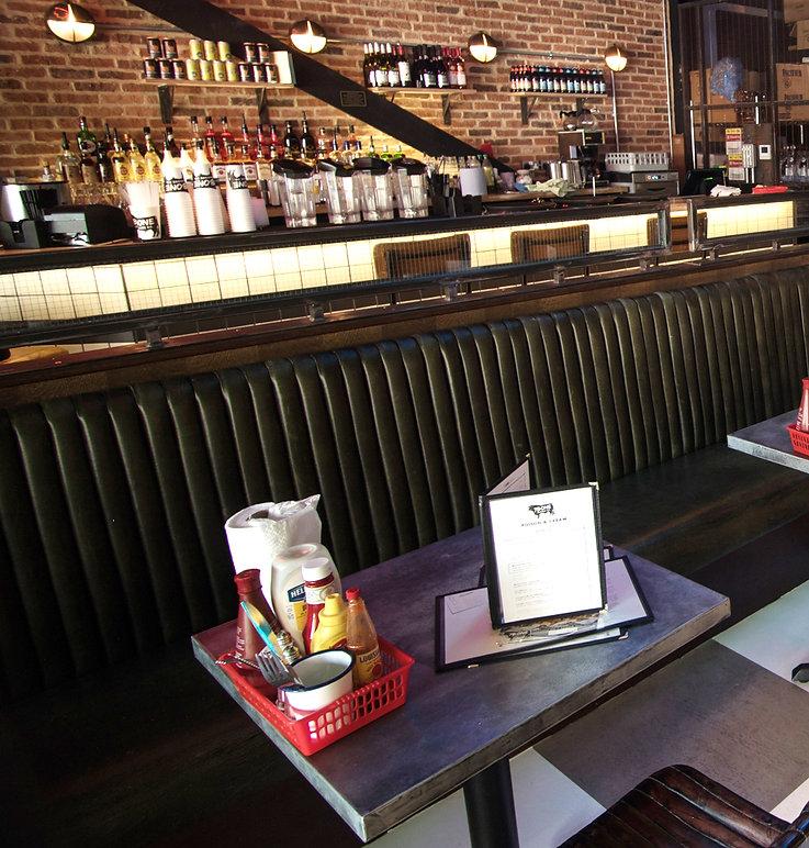7Bone Weston Super Mare bar interior designers hospitality Maven Design Studio mid west diner