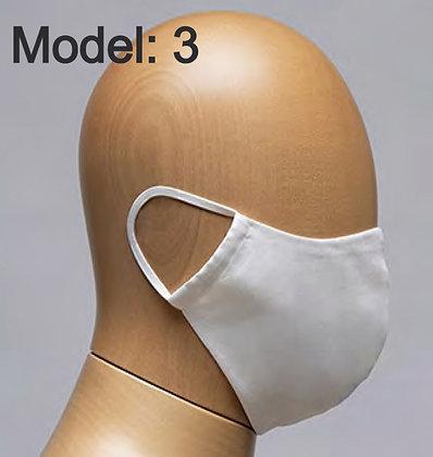 Mondmaskers (model 3) uit 100% katoen