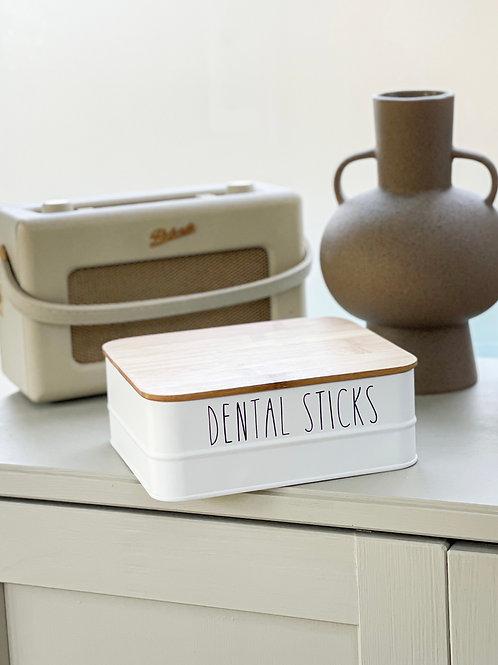 Customisable Bamboo Storage Box