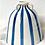 Thumbnail: Ceramic Blue Stripe Vase